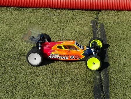 1/10 buggy race