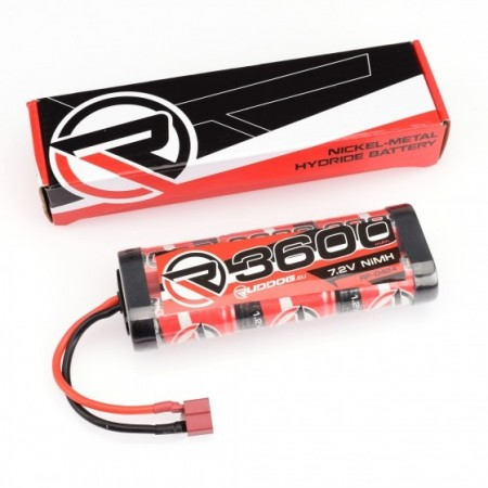 3600mAh 7.2V NiMH Stick Pack with T-Style Plug