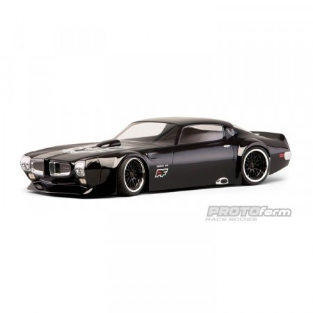 1971 Pontiac Firebird Trans Am Clear Body (200mm)