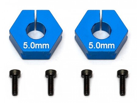 FT Clamping Wheel Hexes, 5.0 mm